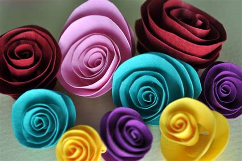 How To Make Different Types Of Paper - how to make different types of flowers with paper