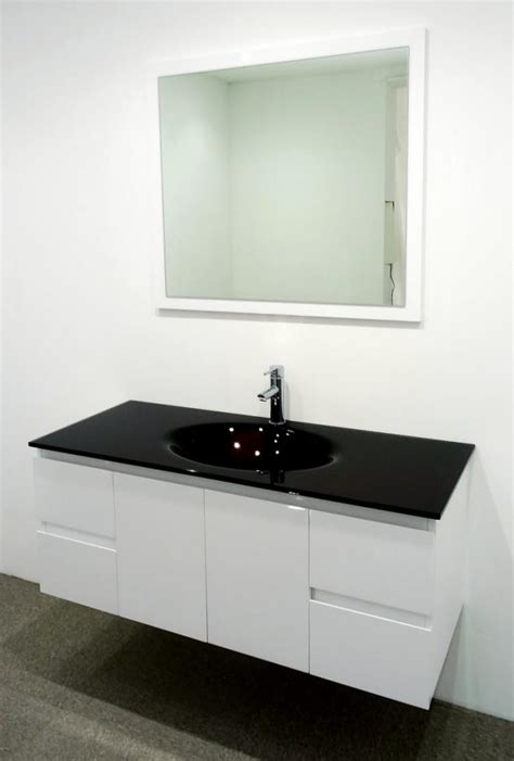 glass vanity units bathroom bathroom vanity unit glass top glass integrated basin