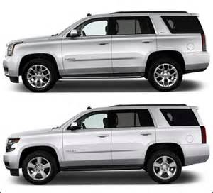 2015 chevy tahoe vs gmc yukon