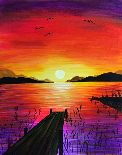 how to draw a sunset with colored pencils pencil sunset pencil and in color pencil sunset