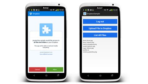dropbox xamarin share file to dropbox in android exle stacktips