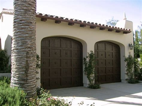 spanish style garage simple garage door design spanish colonial revival