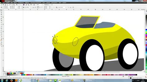 tutorial vector corel draw youtube corel draw tutorial vector cartoon car illustration