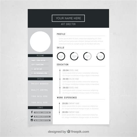 creative cv template free download creative resume template download free sle resume