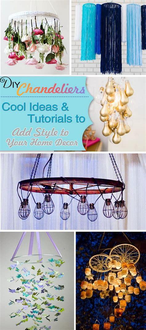 chandelier diy ideas diy chandeliers cool ideas tutorials to add style to