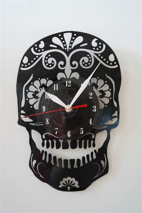 Vinyl Sticker Wall Clock