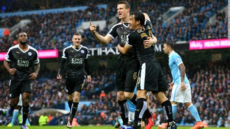 Manchester City Edition 06 city outfoxed by league leaders leicester cnn
