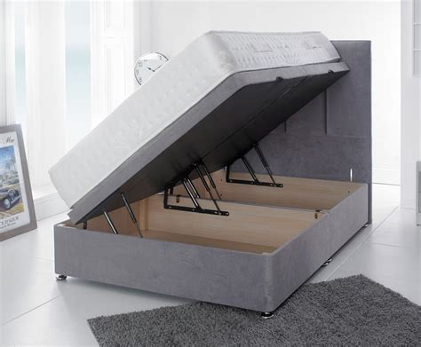 small double ottoman storage beds giltedge beds ultimo velvet 2000 4ft small double ottoman bed
