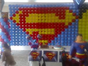 Superhero Baby Shower Decorations Superman Balloon Decoration Balloons Superheros
