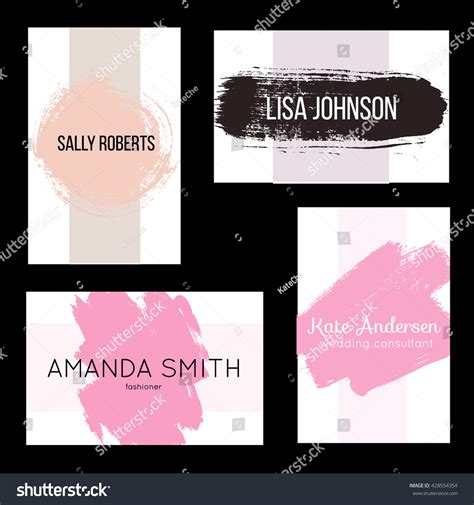creative invitation card templates free creative modern business card invitation templates stock