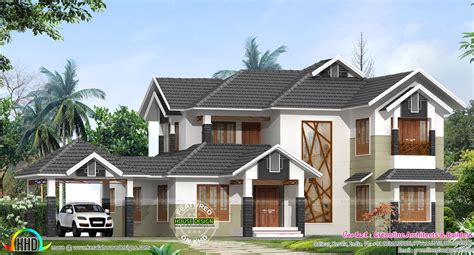 2600 sq ft cute decorative contemporary home kerala home january 2016 kerala home design and floor plans