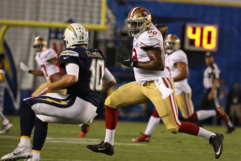 chargers 49ers photos 49ers at chargers preseason week 4