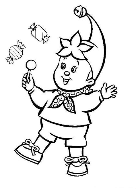 Coloring Page Noddy Coloring Pages 28 Noddy Colouring Pages