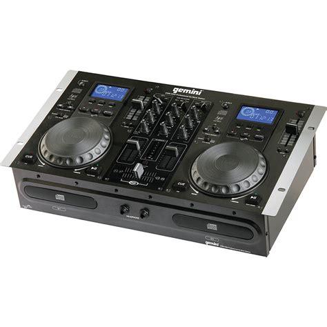 gemini console gemini cdm 3200 dual cd mixing console cdm 3200 b h photo