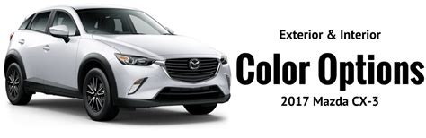 what is the color of 2017 2017 mazda cx 3 color options