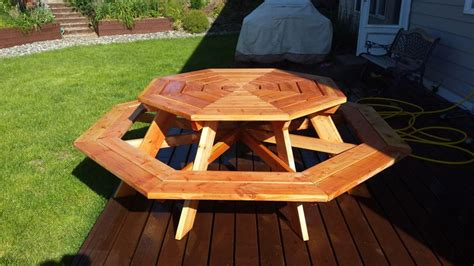 picnic table plans   perfect weekend project