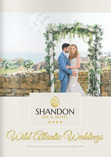 Wedding Brochure Hotel by Atlantic Weddings Donegal Shandon Shandon Hotel