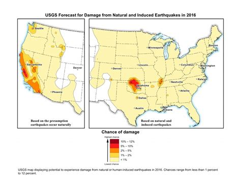 usgs earthquake map texas study 7 million in america s heartland facing new dangerous earthquake threat the grid news