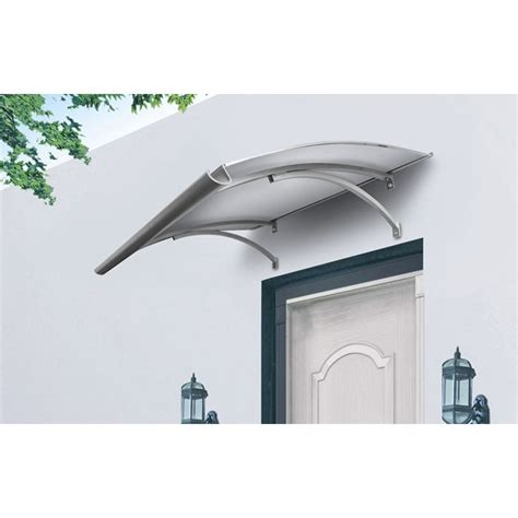 silver top awnings prices haymen window awning door canopy in clear 140x90cm buy
