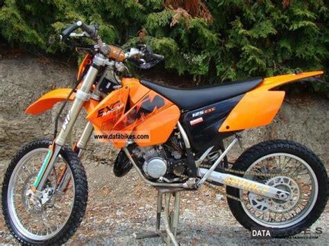 2004 Ktm 400 Exc 2004 Ktm 125 Exc Moto Zombdrive