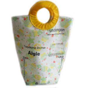 souvebir tas gagang bulat murah tebal undangan tas motif handle bulat tebal undangan souvenir