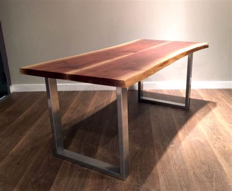 diy table legs buy silver chrome bench leg table legs live edge wood tops hobbies crafts city of toronto