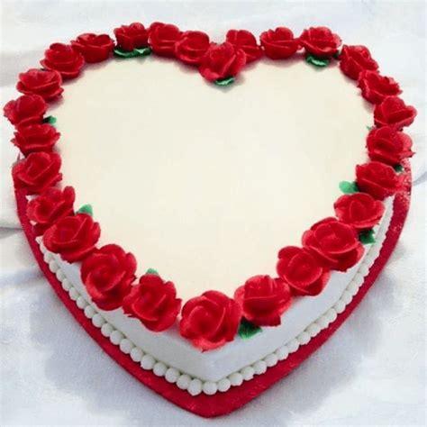 Kg Red Heart Cake Online At Best Faridabadcake