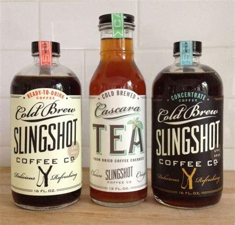 Slingshot Cold Brew Coffee & Cascara Tea