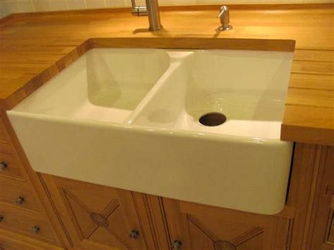 Farmhouse Porcelain Kitchen Sink Porcelain Farmhouse Sinks Kitchen Pinterest