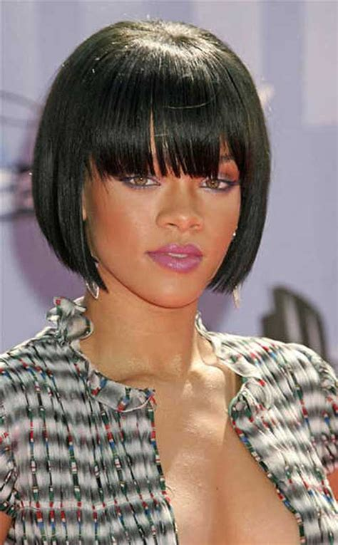 blunt cut bob hairstyle african american photos 30 best bob haircuts for black women bob hairstyles 2017
