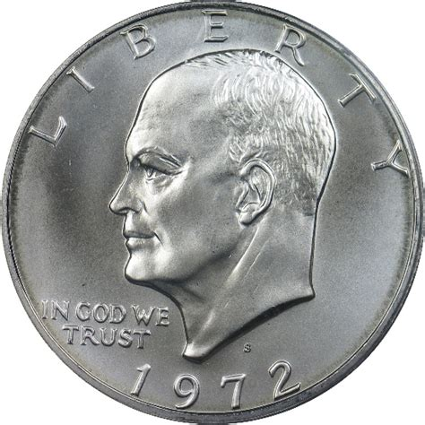 specifications eisenhower silver dollars 1972 s eisenhower silver dollar pcgs ms67 dollars jms coins