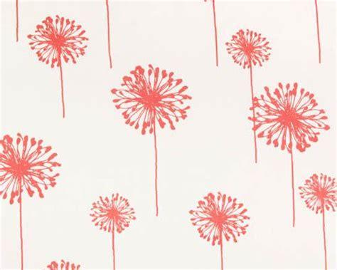 dandelion print curtains premier prints fabrics dandelion white coral