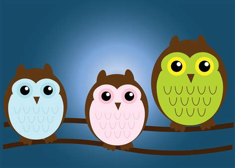 pin the owl family stock vector 23783257 shutterstock on