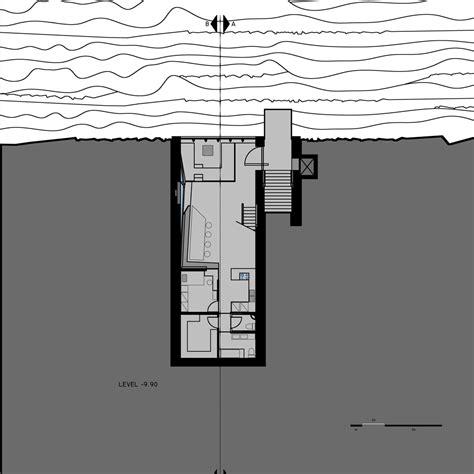 opa s sunken cliffside residence gets go ahead dezeen