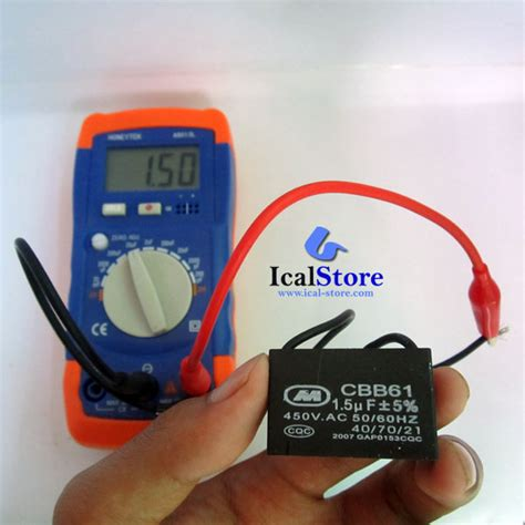 beli capasitor meter alat ukur kapasitor digital capasitor meter a6013l ical store ical store