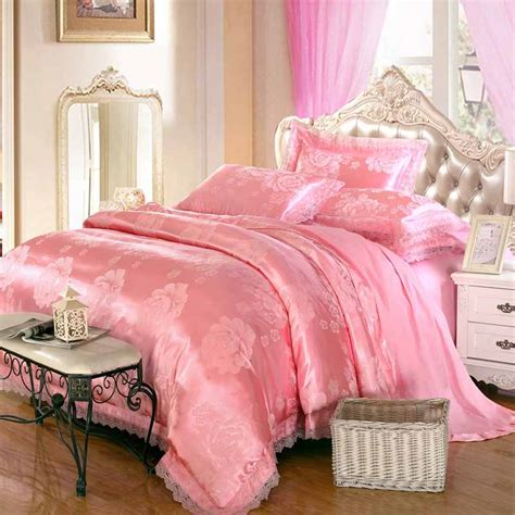 pink silk comforter sheet bag picture more detailed picture about pink lace