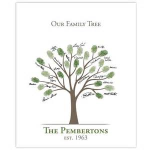 Family Tree Thumbprint Template by Family Tree Template Family Tree Thumbprint Template
