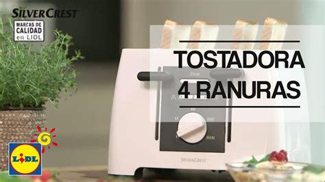 tostadora lidl tostadora de cuatro ranuras lidl espa 241 a youtube