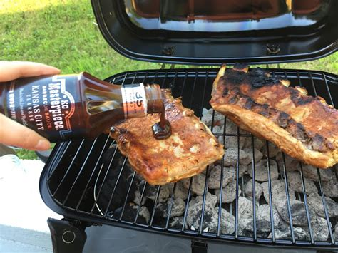 how to make bbq ribs on a charcoal grill recipe