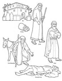 the samaritan coloring page parable of the samaritan