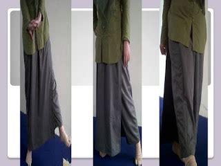 Rok Katun Diana rok celana muslimah aktif tetap syar i rok celana muslimah 2 in 1 dengan 2 pilihan model