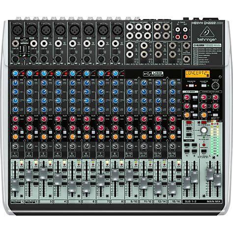 Mixer Behringer Qx2222usb behringer xenyx qx2222usb guitar center