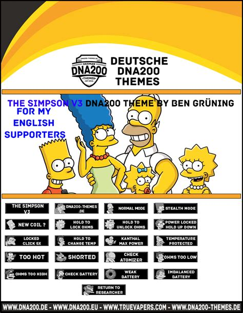 themes dna 250 the simpson v3 dna200 theme for my english supporters