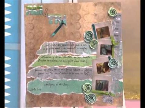 layout scrapbook que es scrapbooking carolina ghelfi clase 1 en manosalaobratv