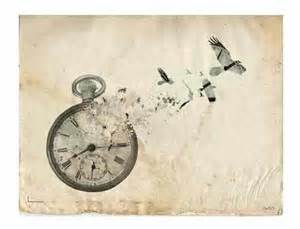 broken clock with butterfly shards tatto design tattoos