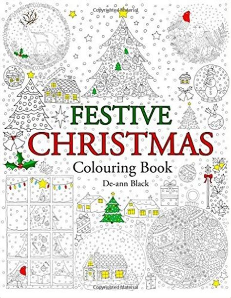 festive christmas colouring book get some colour in your life