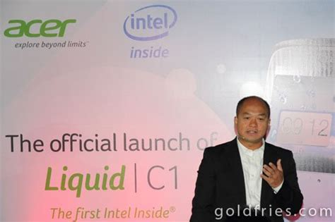 launch of acer liquid c1 intel powered smartphone