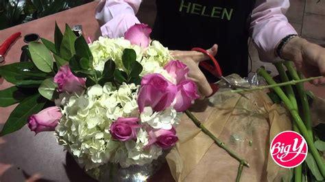 Flower Arrangements Diy hydrangea rose amp asiatic lily arrangements youtube