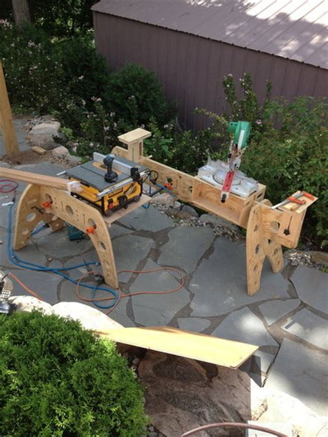 canadian woodworking forum sawhorse designs canadian woodworking and home