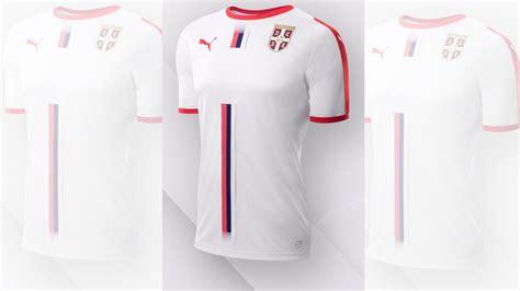 Serbia Mundial 2018 Todas Las Camisetas Mundial Rusia 2018 Goal